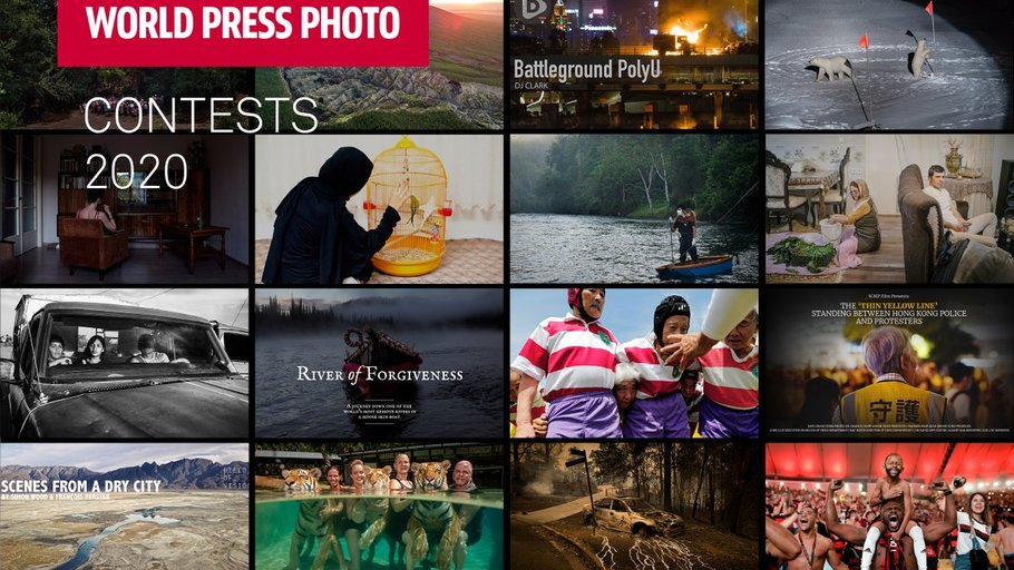 Un desastre aéreo y protestas sociales, nominados al World Press Photo 2020